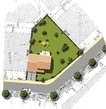 Geometres experts immobilier bornage - Releve cadastral propriete ...